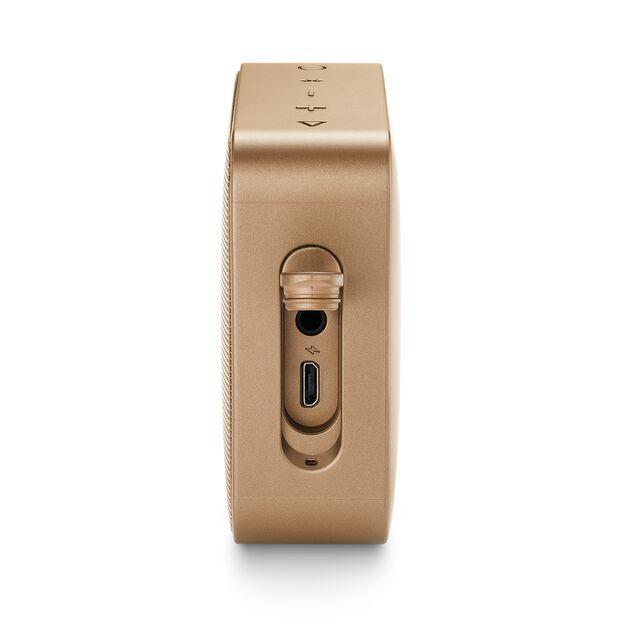 JBL GO 2 - Champagne - Portable Bluetooth speaker - Detailshot 4