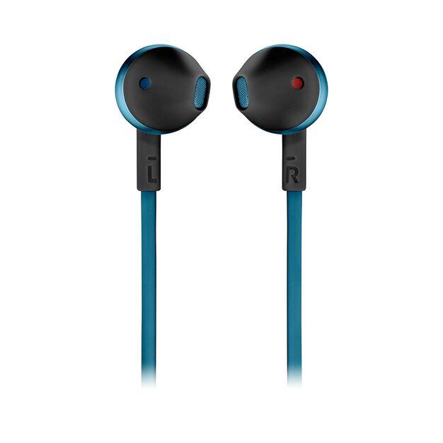 JBL TUNE 205BT - Blue - Wireless Earbud headphones - Front