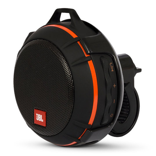 JBL Wind - Black - 2 in 1 - On the road and on the go speaker - Hero