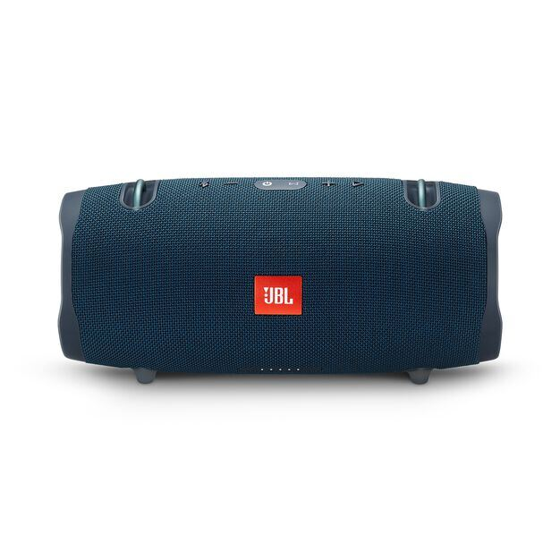 JBL Xtreme 2 - Ocean Blue - Portable Bluetooth Speaker - Front