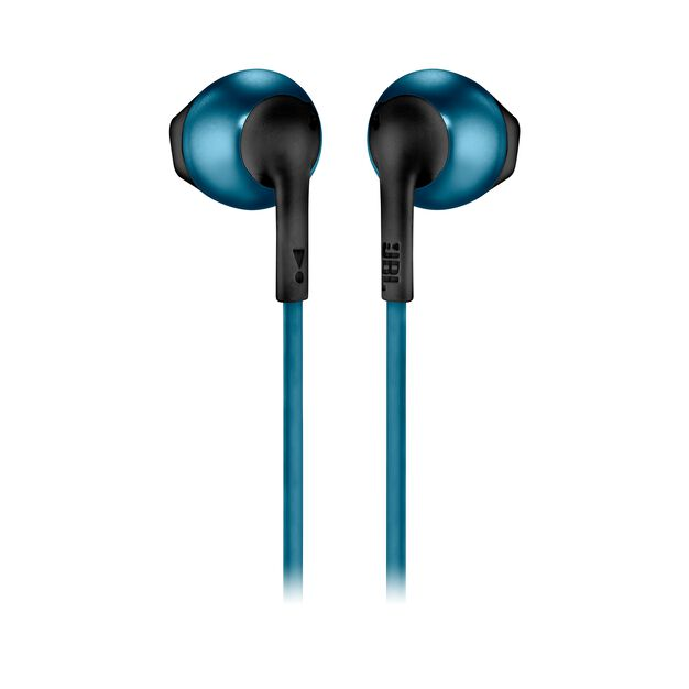 JBL TUNE 205BT - Blue - Wireless Earbud headphones - Back