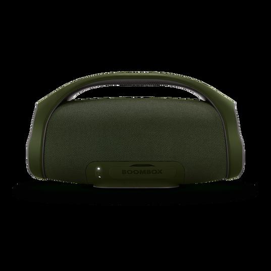 JBL Boombox - forest green - Portable Bluetooth Speaker - Back