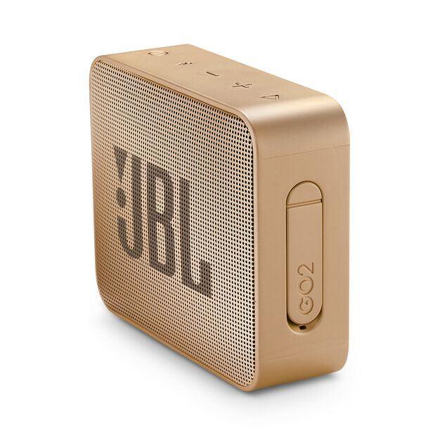 JBL GO 2 - Champagne - Portable Bluetooth speaker - Detailshot 2