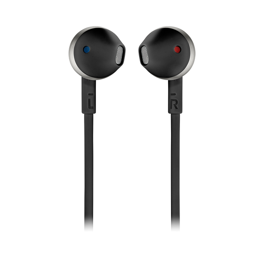 JBL TUNE 205BT - Black - Wireless Earbud headphones - Front