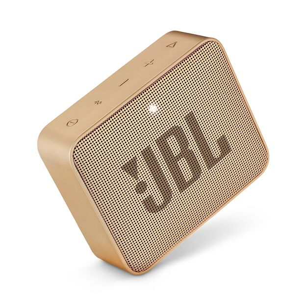 JBL GO 2 - Champagne - Portable Bluetooth speaker - Detailshot 1