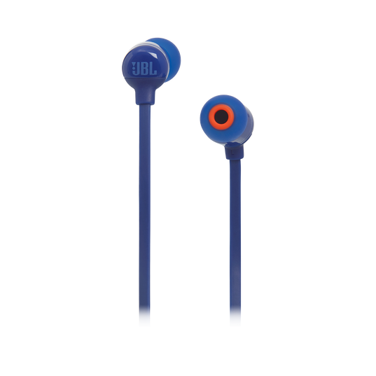 JBL TUNE 110BT - Blue - Wireless in-ear headphones - Front