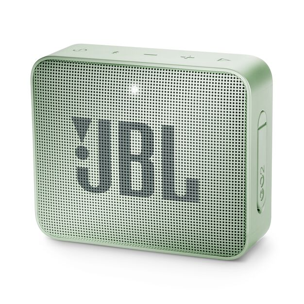 JBL GO 2 - Seafoam Mint - Portable Bluetooth speaker - Hero