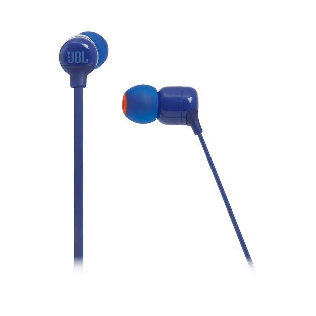 JBL TUNE 110BT - Blue - Wireless in-ear headphones - Detailshot 3