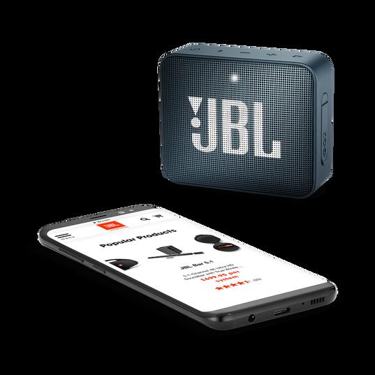 JBL GO 2 - Slate Navy - Portable Bluetooth speaker - Detailshot 3