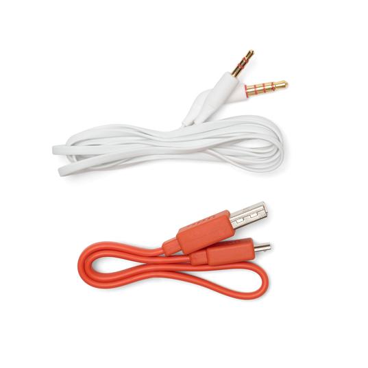 JBL TUNE 750BTNC - White - Wireless Over-Ear ANC Headphones - Detailshot 6