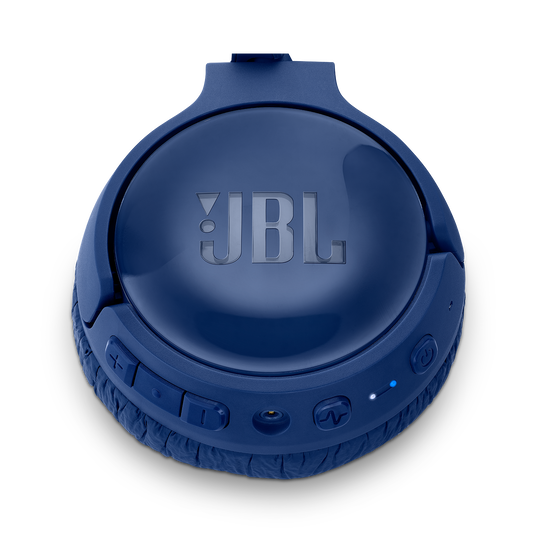 JBL TUNE 600BTNC - Blue - Wireless, on-ear, active noise-cancelling headphones. - Detailshot 3